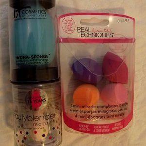 SPONGES, It Cosmetics & Beauty Blender & Real Tech